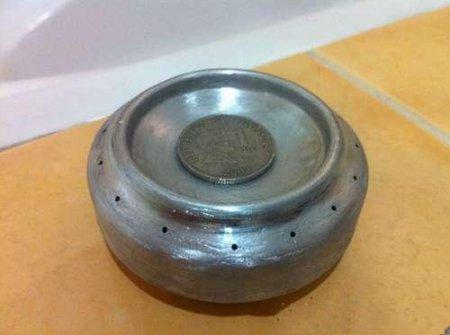 Горелка из металлических банок