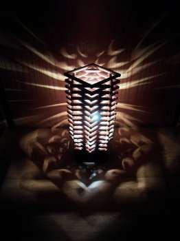 Лампа небоскреб