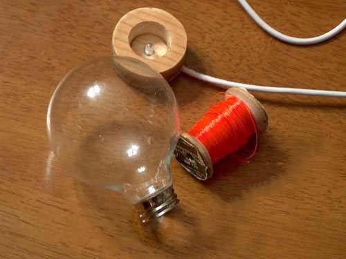 Светильник на одном светодиоде своими руками