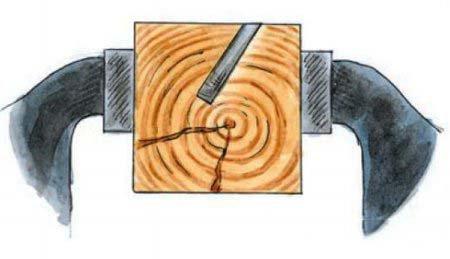 Приспособление для заточки ножей для рубанка своими