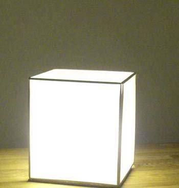 Лампа в японском стиле своими руками