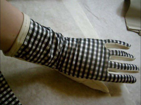 Обновление кожаных перчаток