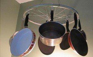 Подвеска для сковородок своими руками