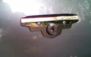 Защита для замка задней двери