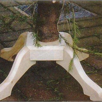 Деревянная подставка для елки своими руками