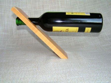 Подставка под бутылку вина своими руками