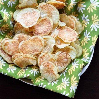 Картофельные чипсы своими руками