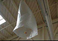 Воздушный шар из полиэтиленовых пакетов