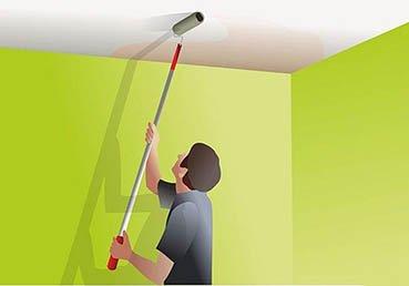 Как устранить дефекты потолка после потопа