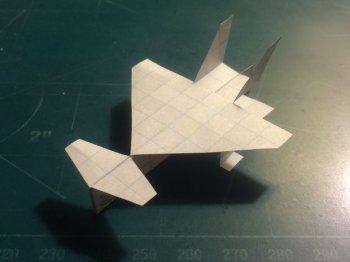 Летучий бумажный самолет своими руками