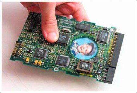 Фоторамка из компьютерной платы