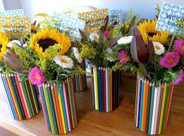 Карандашная ваза для цветов