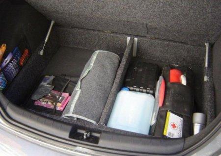 Двойное дно в багажник автомобиля