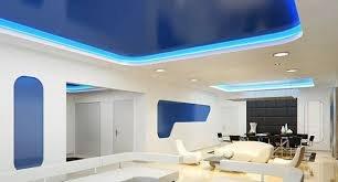 Подсветка потолка с помощью светодиодной ленты