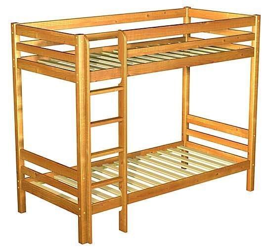 Кровать двухъярусная деревянная своими руками