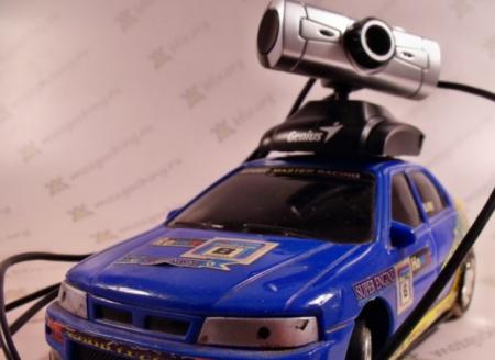 Радиоуправляемая камера из машинки