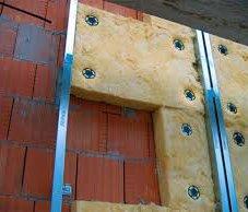 Утепление стен дома при помощи базальтовой плиты